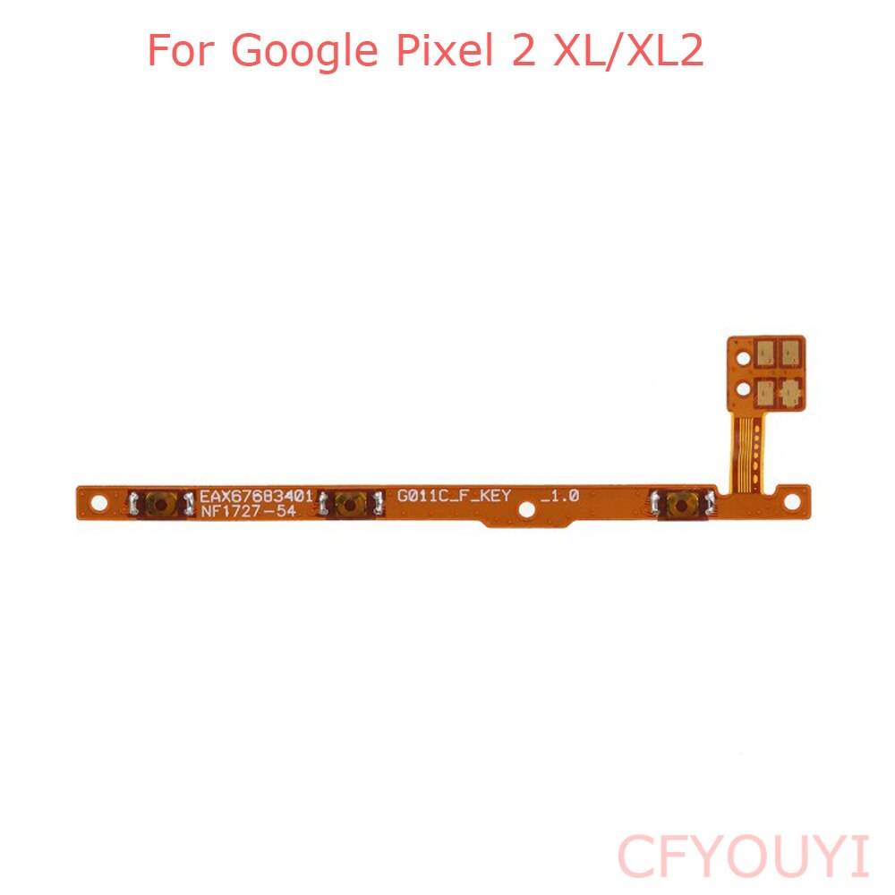 Original en/y volumen cable Flex con botones de Google para Google Pixel/XL/XL2