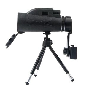 Monocular Telescope,Waterproof Monocular Scope with Smartphone Adapter Tripod for Wildlife Bird Watching Hiking Camping