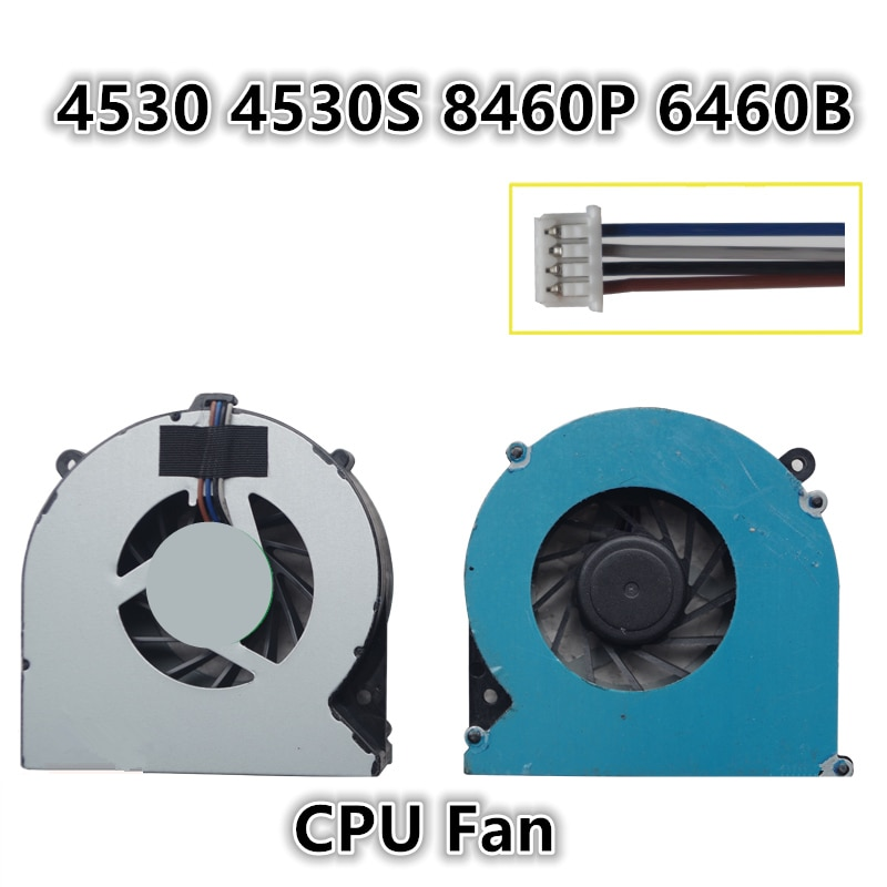 Brand New Laptop CPU Cooling Fan For HP 4530 4530S 8460P 6460B Notebook Cooler Radiator