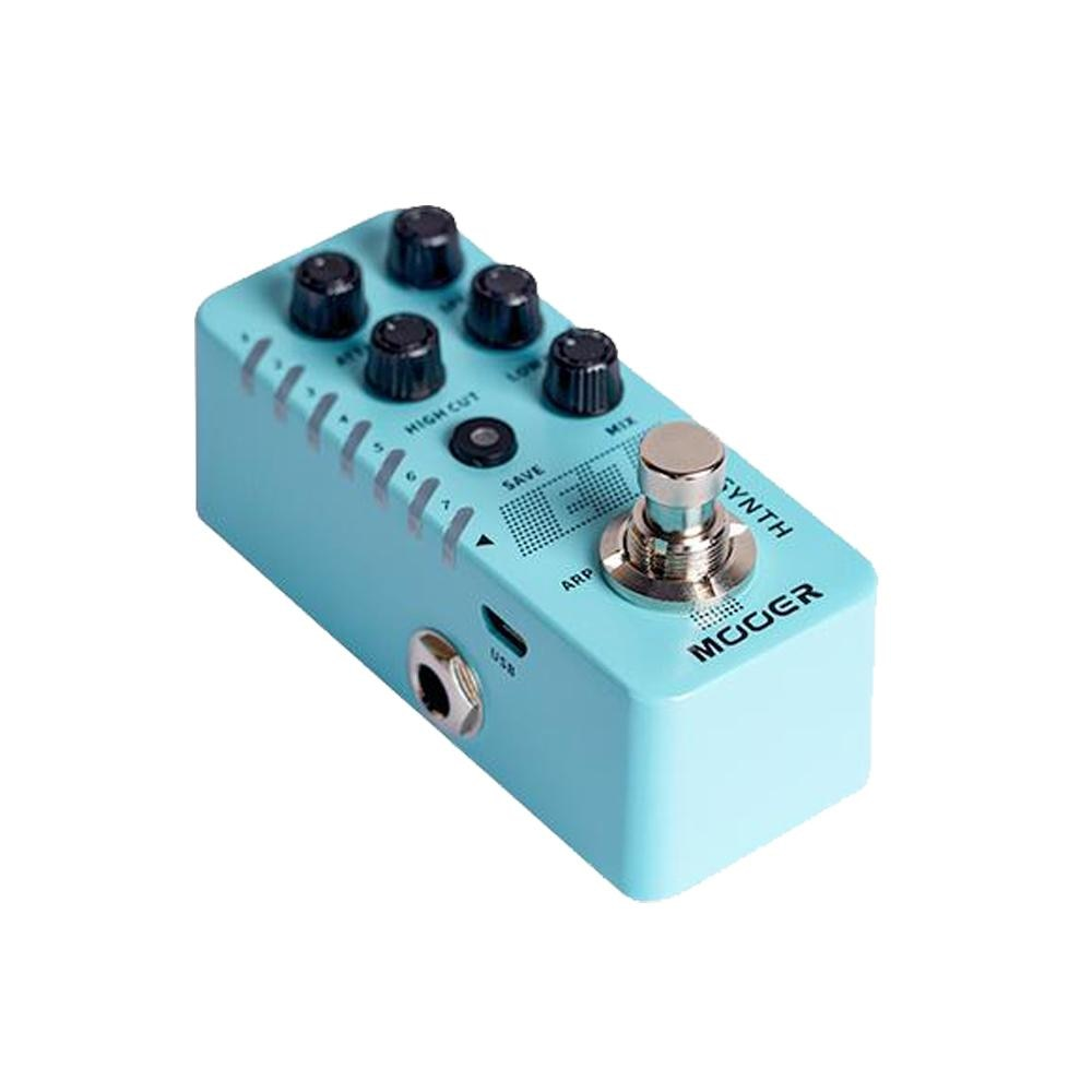 E7 Electric Guitar Effects 7 Polyphonic Synthesizer Sounds Guitar Pedal Arpeggiator Mode String Instrument Accessory enlarge