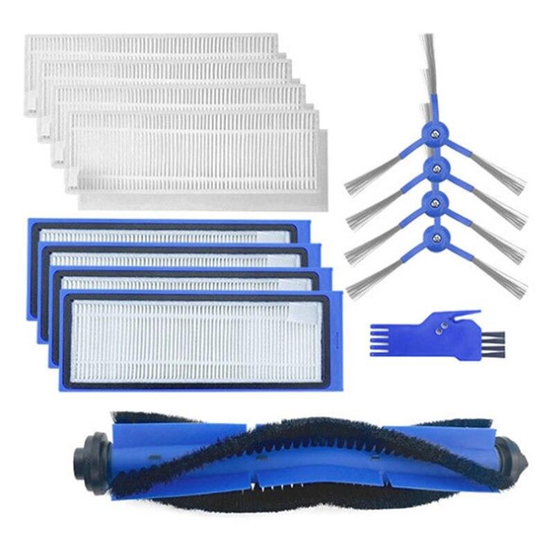 يصلح ل Eufy مكانس كهربائية للكنس الملحقات L70 فرشاة الأسطوانة ، فرشاة رئيسية ، فرشاة جانبية ، ممسحة القماش ، عناصر مرشح HEPA