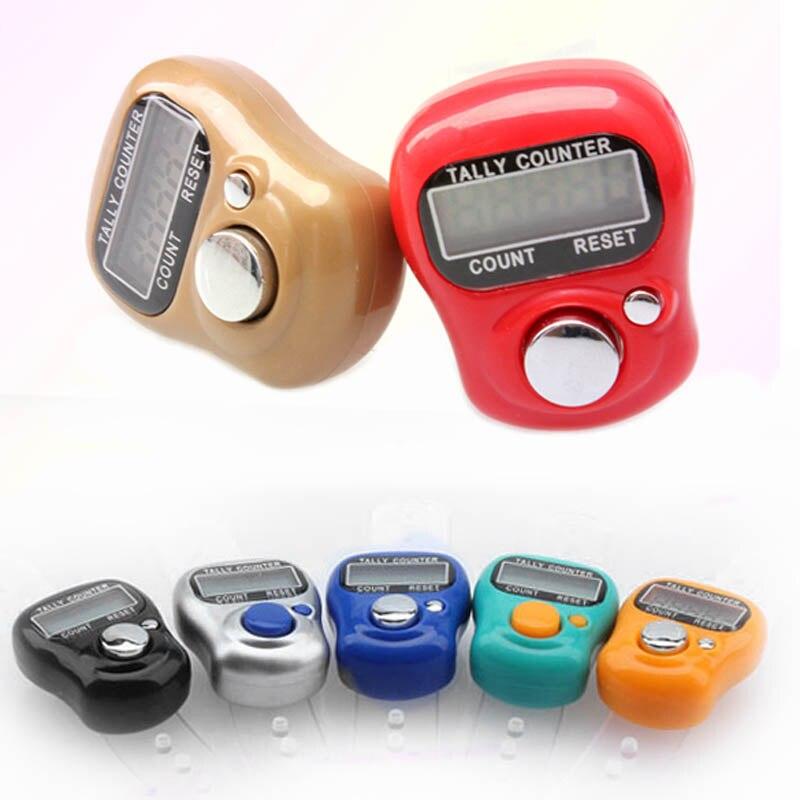 Mini contador electrónico Digital LCD portátil, herramienta de cocina de Tally Manual,...
