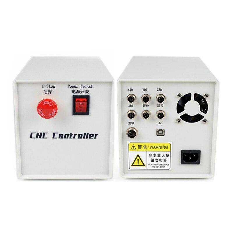 صندوق التحكم باستخدام الحاسب الآلي 3-4 محور GRBL Mach3 نظام 0.8/1.5 كيلو واط VFD تحكم استخدام ل جهاز التوجيه باستخدام الحاسب الآلي لتقوم بها بنفسك آلة ط...