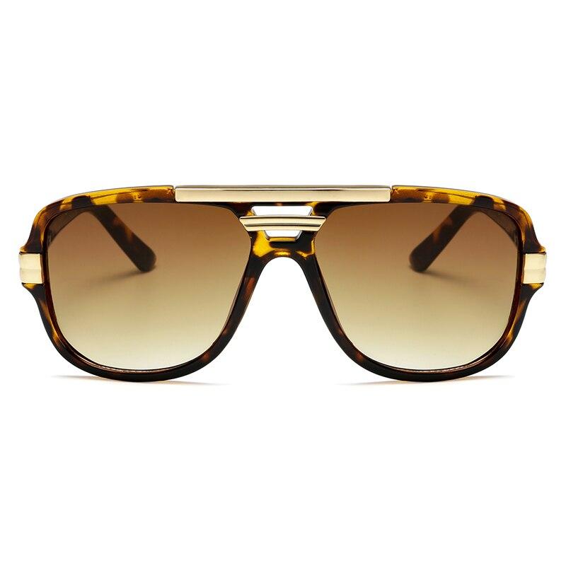 Brand Design New Sunglasses Fashion Men Square Luxury Sun Glasses Vintage UV400 Sunglass Shades Eyew