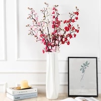 new artificial 92cm long pole dongmei home living room restaurant hotel scene layout diy photography decoration ornaments