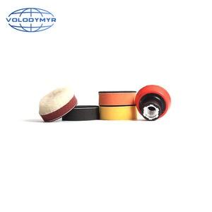 Image 4 - Набор для полировки дрели, полировальная Подушка 1, 2 или 3 дюйма, включает в себя красную губку для обработки воском, автомобильный буфер, полировщик для полировки