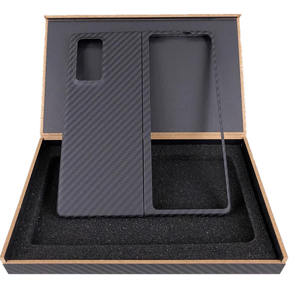 Shell For Samsung Galaxy Z Fold 2 5G ، ممتص صدمات أصلي من الكربون ، حامل خلفي رفيع Z Fold2 Ultra لهاتف Samsung Co H3K8