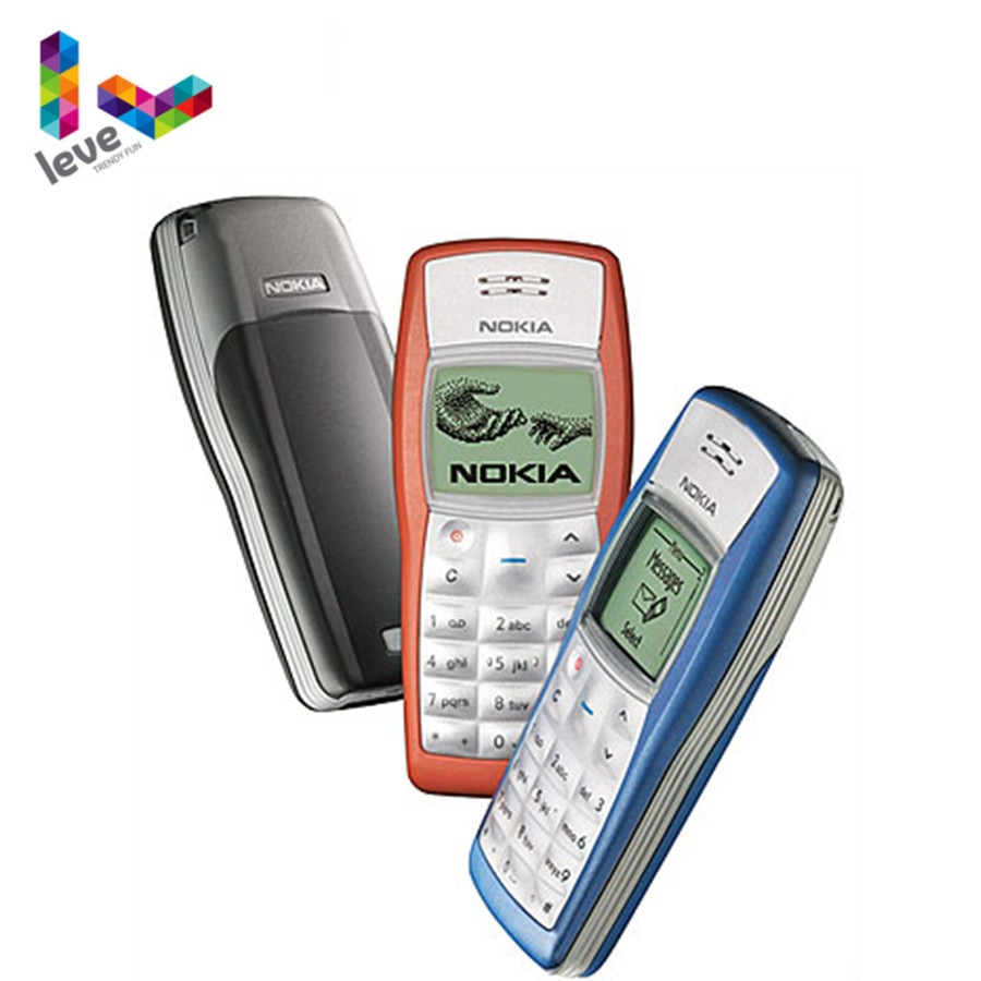 Nokia 1100 Unlocked Phone GSM 900/1800 Support Multi-Language Used and Refurbished Cell Phone Free S