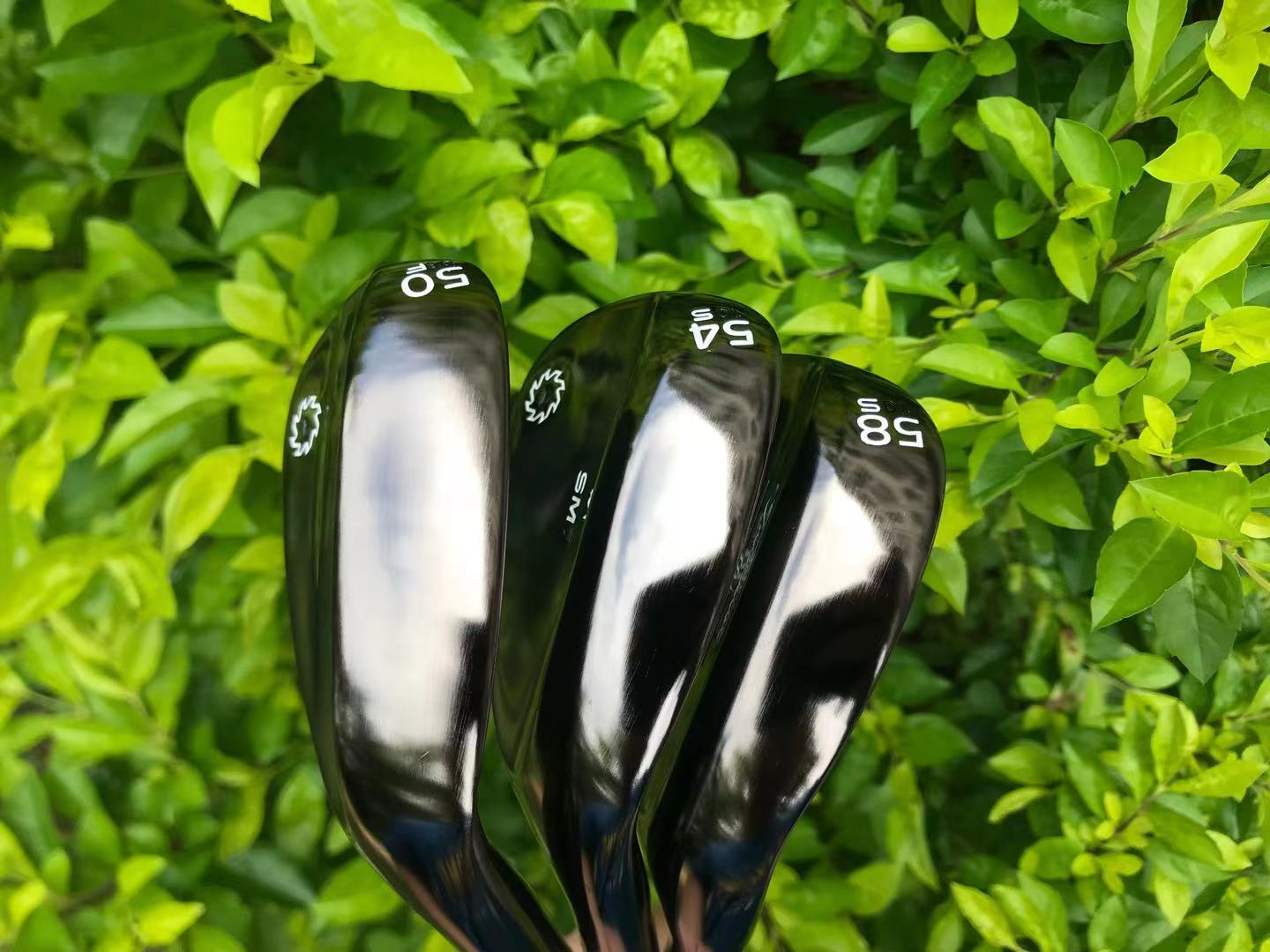 Golf clubs Golf wedges Brown Right Handed 50-08F 54-10S 58-10S degrees  S300 or R300 Steel shaft
