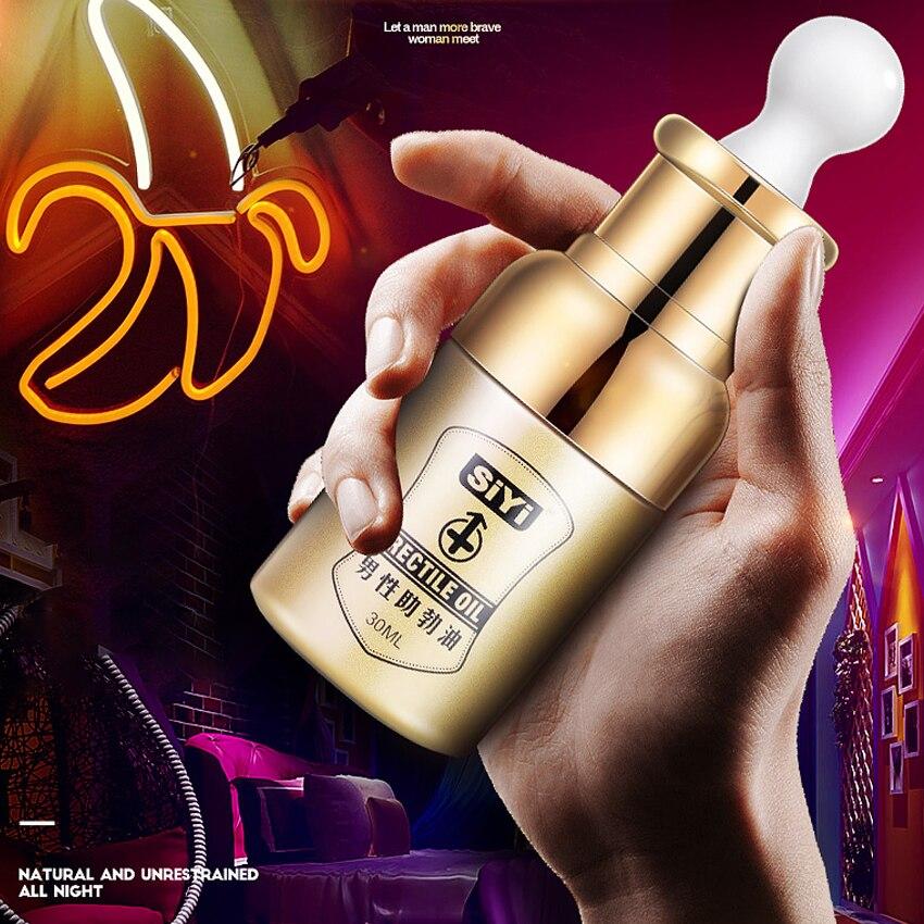 30ML Men Lasting Erection Oil Genuine Viagra Penis Enlargement Cream Sex Delay Enhancer Increase Erection Oil Aphrodisiac XXL