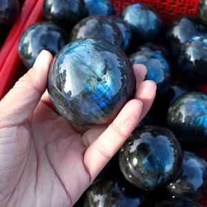 1 Kg natural labradorite crystal spheres healing crystal ball