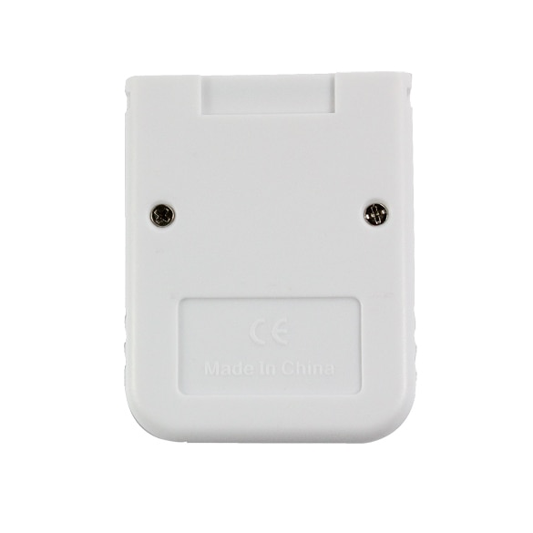 Practical White Game 16MB Memory Card Block for Nintendo Wii Gamecube GC Game System Console For Saving Game Office Data NEW
