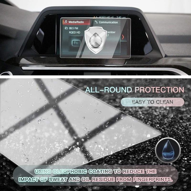 Control central del Protector de pantalla del coche para BMW X3 G01 2018 2019 iDrive, vidrio templado (6,5 pulgadas)