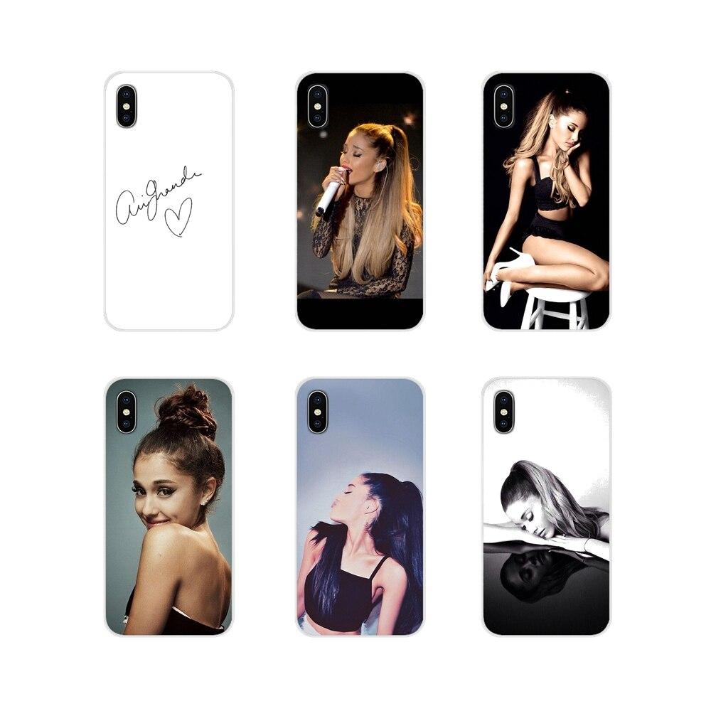 For Xiaomi Redmi Note 3 4 5 6 7 8 Pro Mi Max Mix 2 3 2S Pocophone F1 Accessories Phone Cases Covers Ariana Grande