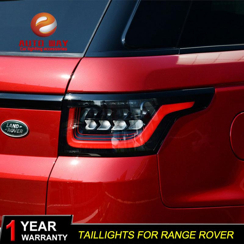 Luces traseras para Estilismo de coche, carcasa para LAND ROVER RANGE ROVER 2013-2017, luces traseras LED