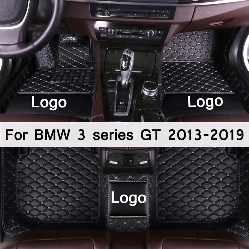 Auto fußmatten für BMW 3 serie GT 320i 328i 335i 330i 2013 2014 2015 2016 2017 2018 2019 Benutzerdefinierte auto fuß Pads automobil