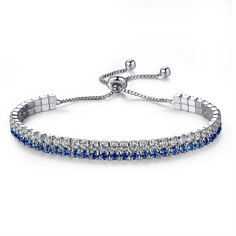 jinzeyi hot sale Europe and the United States fashion bracelets for women Handmade zircon bracelet ladies adjustable jewelry