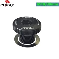 crank screw crankset bicycle rim completespare parts for bicycle m18 30mm alloy screw bicycle crank arm fixing bolt for sram