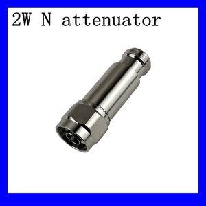 Free shipping 2W N-JK rf attenuator , DC-3GHz,50ohm 1db,2db.3db,5db,6db,10db,15db,20,30db 40db.