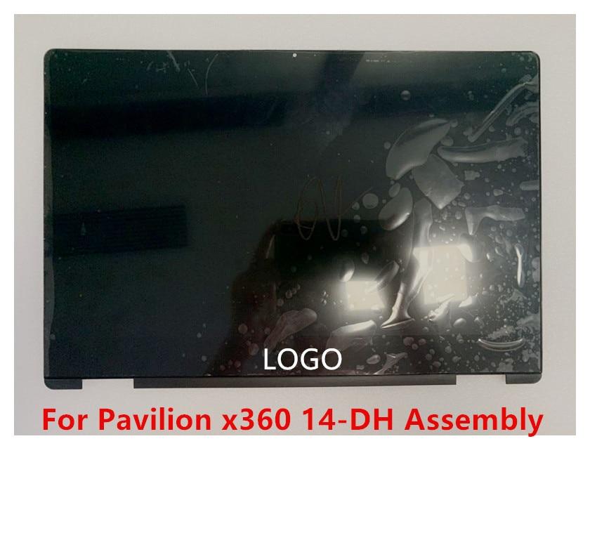 Para HP Pavilion x360 14-dh0017ni 14-dh0010TX 14-dh0011TX 14-Dh0009nf pantalla LCD pantalla táctil...
