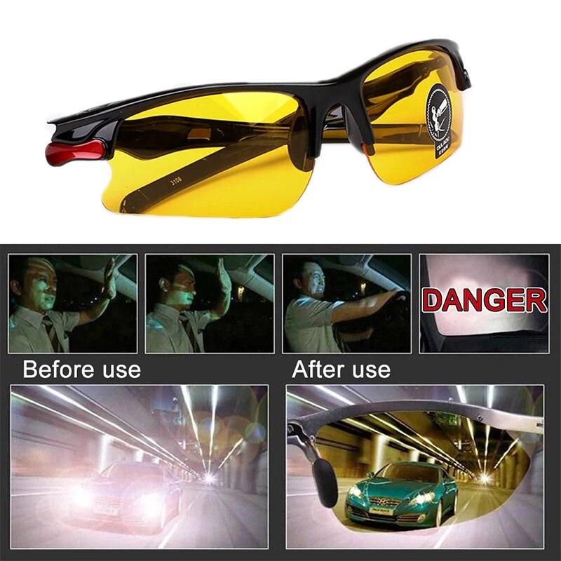Мужские антибликовые поляризованные солнцезащитные очки для вождения очки ночного видения водительские очки Аксессуары для салона очки