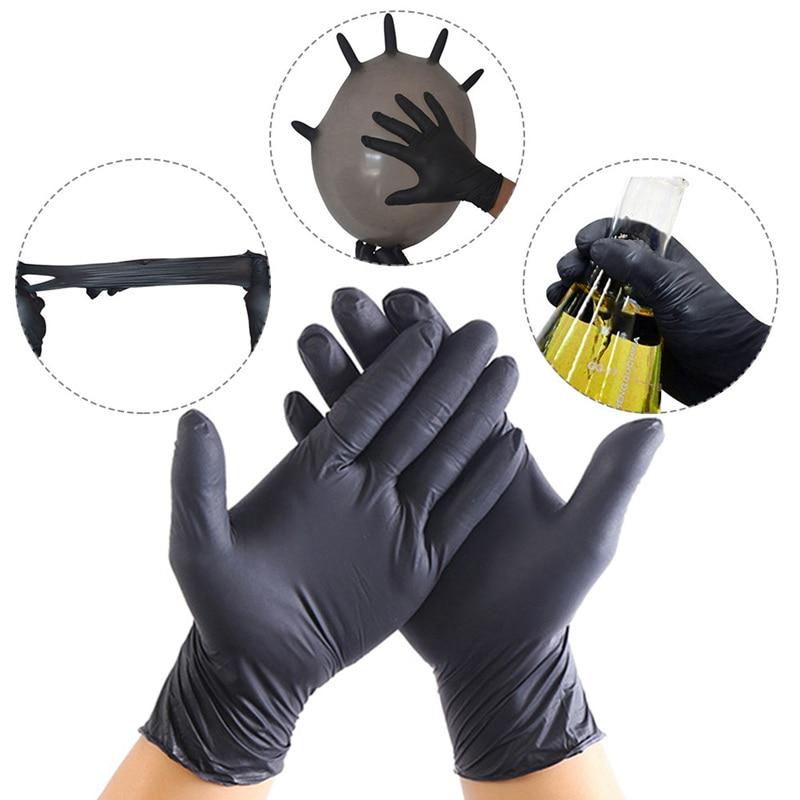 20 одноразовый Силиконовый перчатки резиновые перчатки латексные перчатки для дома одноразовые перчатки, пищевое качество левая и правая универсальная Чистка