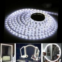 2M/5M RGB LED bande lumineuse 12V 2835 blanc froid 120Led/300Led SMD Flexible Led chaîne lumière maquillage miroir décor TV rétro-éclairage