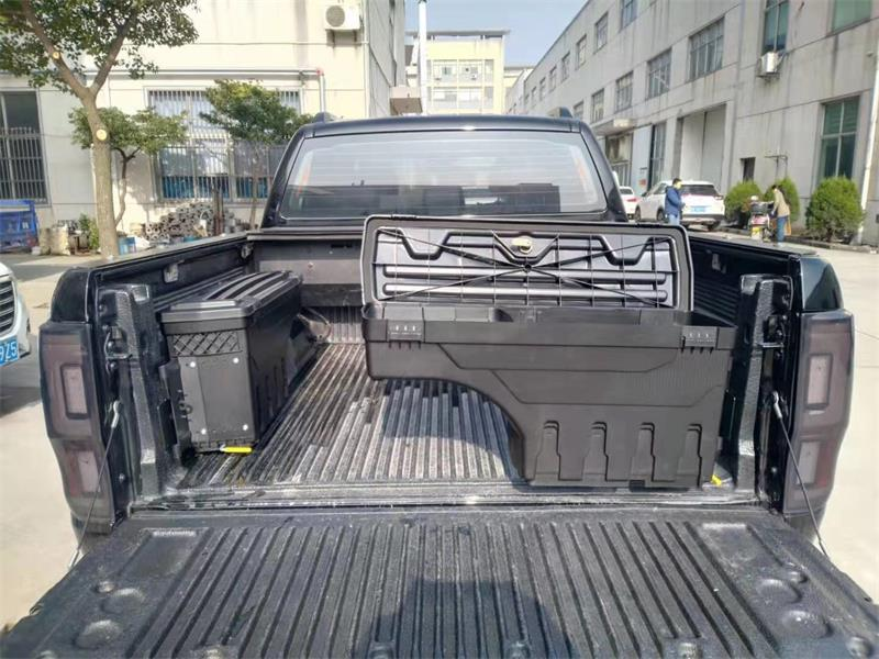 PICKUP CAR REAR TRUCK TAILGATE STORAGE TOOLING BOX BOXES FIT FOR RANGER RAPTOR WILDTRAK XLT XLTS EXTERIOR AUTO Trunk ACCESSORIES