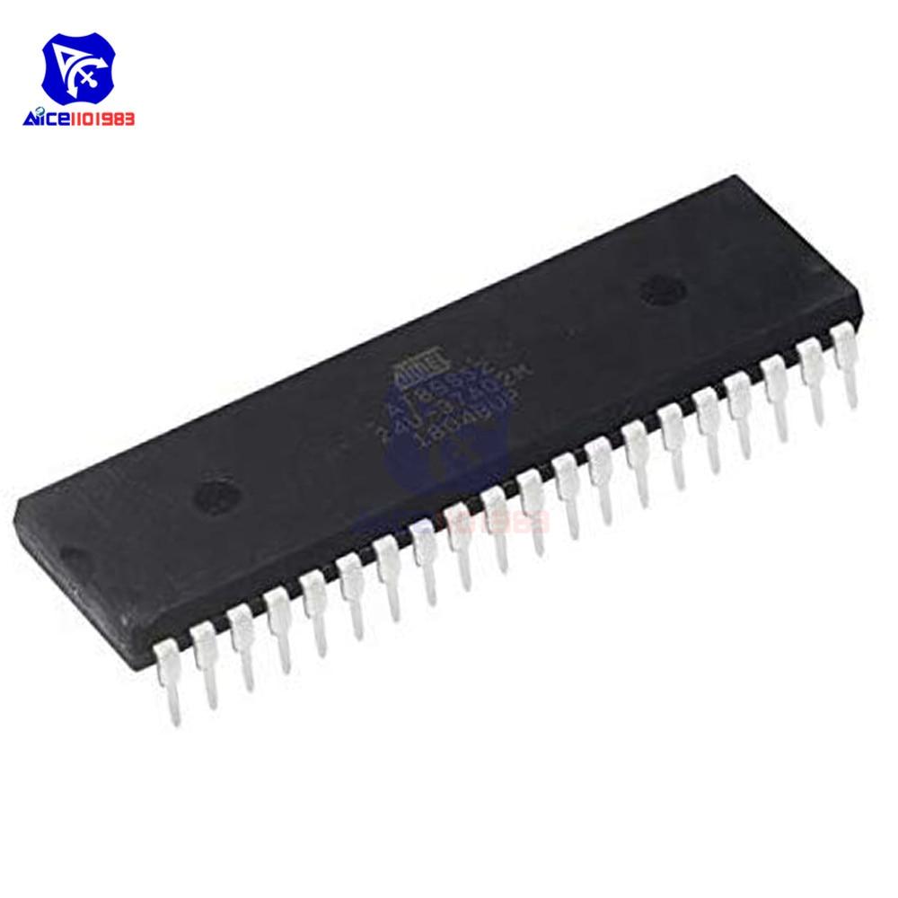 Diymore IC Chip AT89S52 AT89S52-24PU Atmel Microcontrollore DIP-40 Circuito Integrato Originale