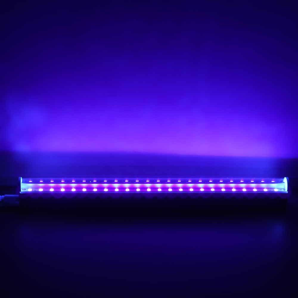 Светодиодный УФ-дезинфекционный портативный УФ-дезинфекционный светильник безопасный USB интерфейс УФ-лампа 250-280нм длина волны бактерицидный светильник