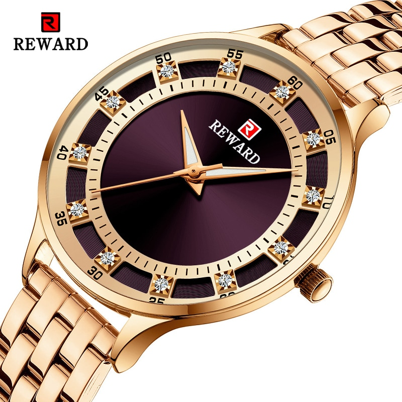 REWARD Fashion Luxury Brand Ladies Quartz Watch Casual Waterproof Women Watches Reloj Mujer 2021 Female Clock Relogio Feminino enlarge