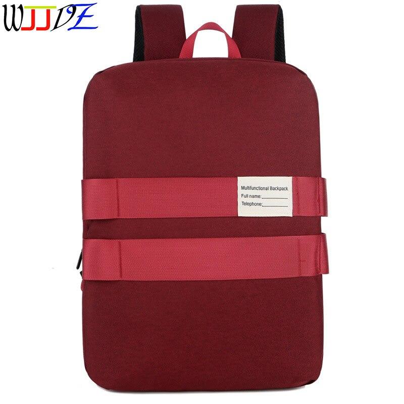 حقيبة ظهر مقاومة للماء للكمبيوتر ، متعددة الوظائف ، سعة كبيرة ، للطلاب ، في الهواء الطلق ، WJJDZ
