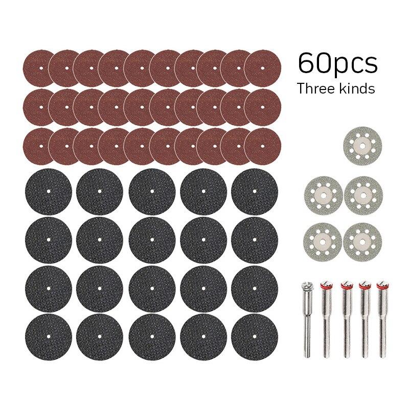 60 vnt. Deimantiniai pjovimo diskai šlifavimo šlifavimo diskas - Abrazyviniai įrankiai - Nuotrauka 3