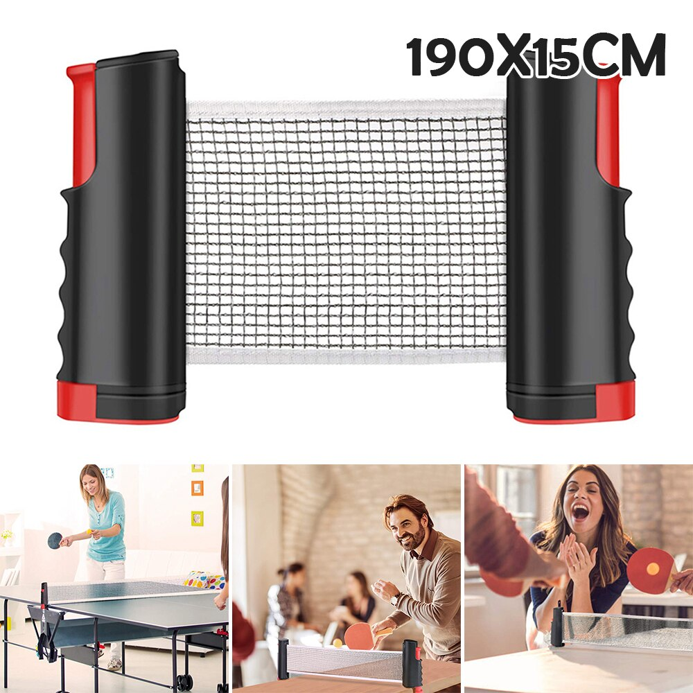 professional metal table tennis table net post ping pong table post net table tennis equipment body building fitness strength Telescopic Table Tennis Net Retractable Professional Ping Pong Post Net Rack Family Workout Fitness Tennis Equipment