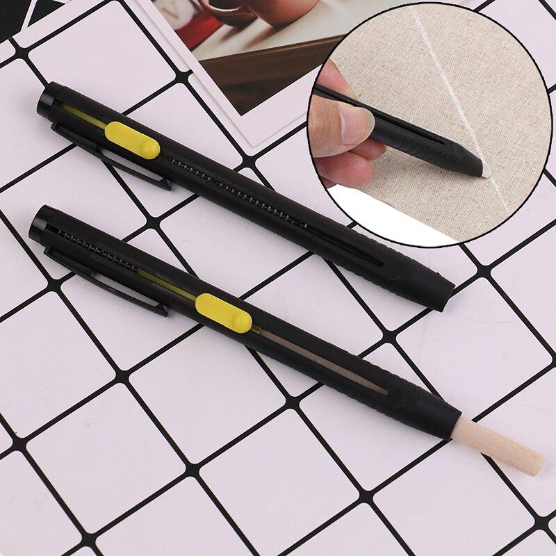 Lápis de giz de costura marcador de tecido giz alfaiate desaparecendo diy artesanato para vestuário acessórios de costura 1pc