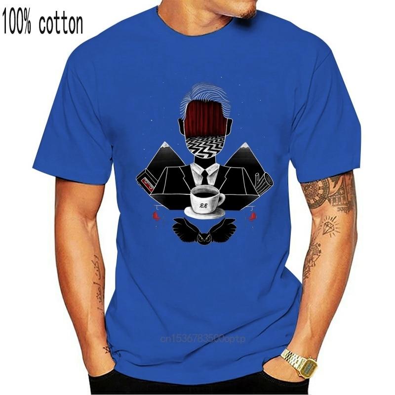 New Twin Peaks Art T-Shirt, David Lynch Men's Women's Tee, All Sizes Short-sleeved Tee Shirt