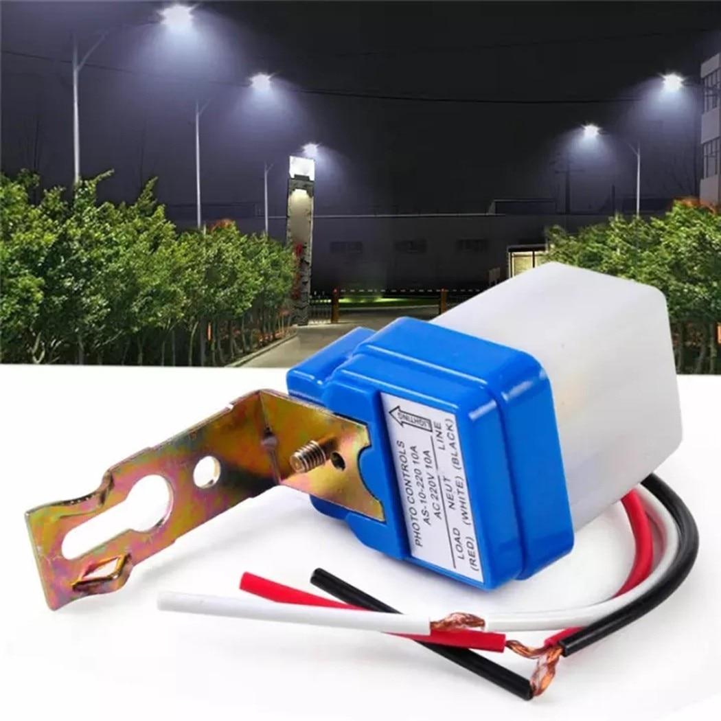 Переменный ток 220 В, 10 А, автоматический дневной/Выходной датчик фотоуправления, переключается автоматический сенсорный переключатель для ...
