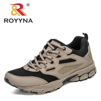 royyna 2020 new style mesh running shoes men lightweight outdoor sport shoes man breathable training fitness shoes mansculino