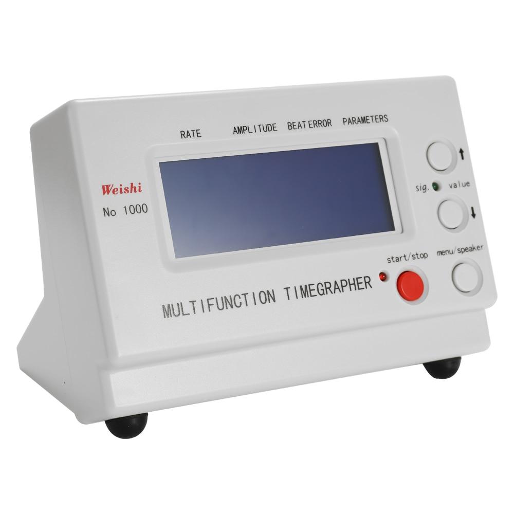 WeiShi No.1000 متعددة الوظائف المهنية توقيت توقيت ساعة ميكانيكية اختبار لمصلحي وهواة أدوات الساعات