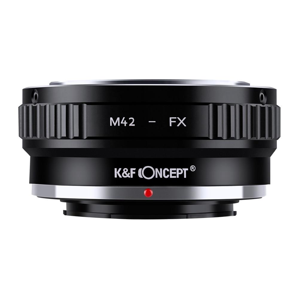 [해외] K & F Concept M42 EOS EF EF-S Nikon F AI FD Minolta AF 카메라 렌즈 FX Fuji X Fujifilm 마운트 어댑터 DSLR for