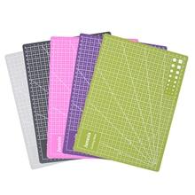 30*22cm auto-guérison tapis de coupe Double face A4 anti-dérapant PVC tapis de coupe avec Gri d lignes Angles conception pour Scrapbooking