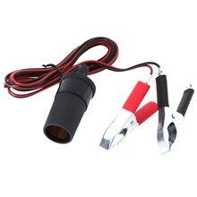 Conector da tomada de emergência bateria saltar cabo jacaré grampos clipe para caminhões de carro saltar arranque jacaré clipe carro jumper