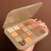 2021 new 20 color chestnut eyeshadow palette matte pearlescent earth tone repairing high gloss all in one palette niche