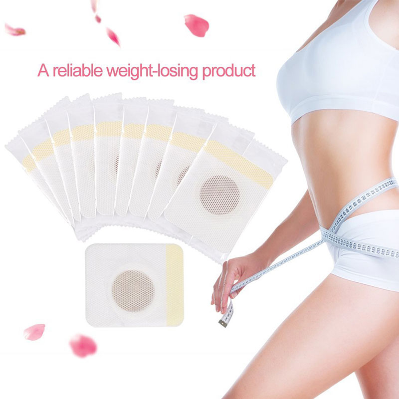 Hot sale 10/30/40pcs Slimming Patch Chinese Medicine Weight Loss Fast Burning Fat Natural Herbs Navel Sticker Body Shaping Patch
