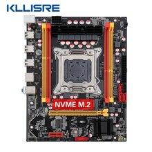 Kllisre X79 chip motherboard SATA3 PCI-E NVME M.2 SSD support REG ECC memory