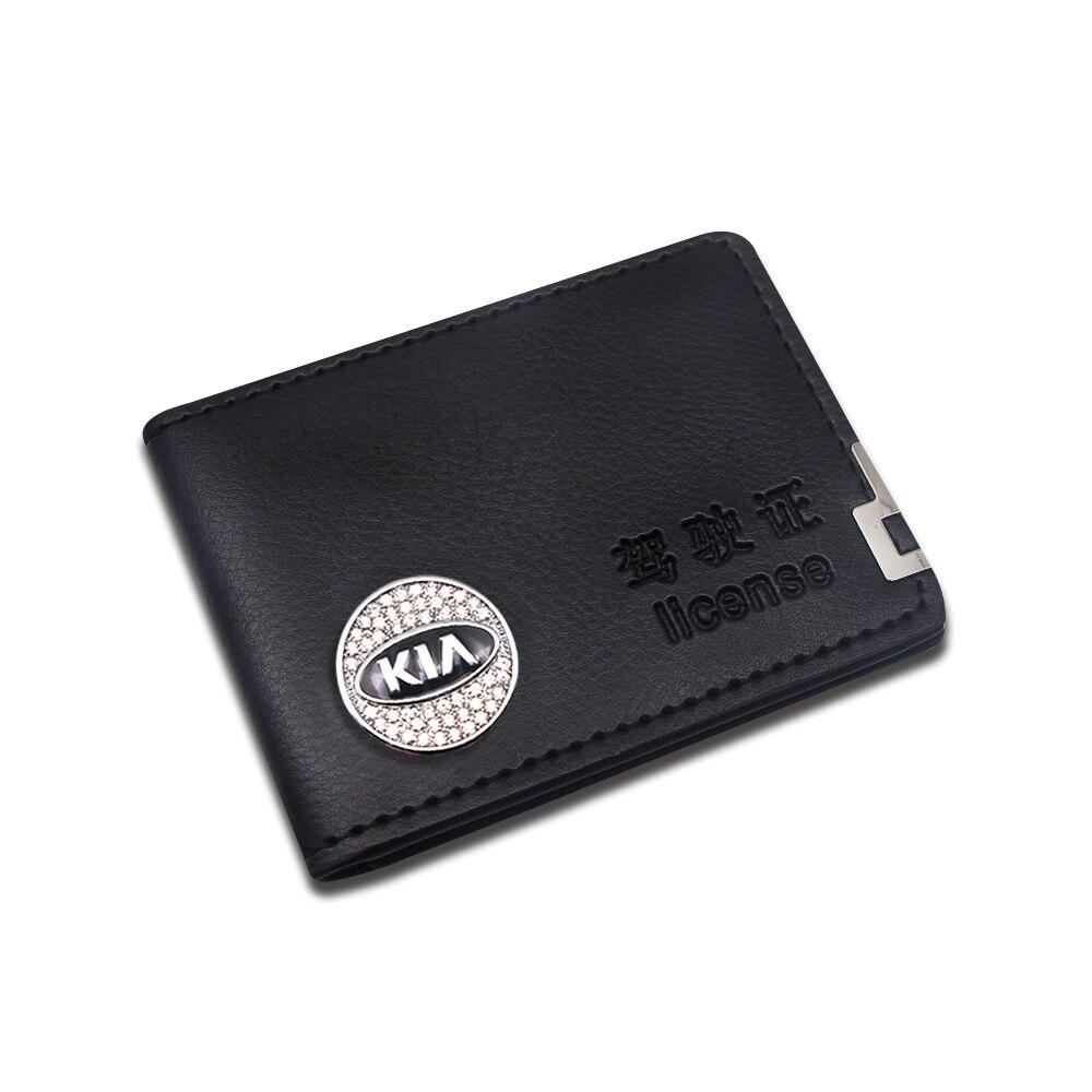 Licencia de Conducir usada para documentos de conducción y soporte de tarjeta de negocios para Kia Motors Cerato Sportage R K2 K3 K5