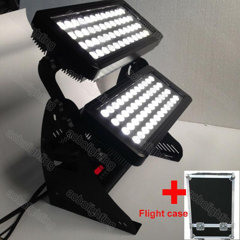 96 LEDs 10W RGBW 4in1 Led arandela de pared luces IP55 al aire libre LED ciudad color etapa iluminación Bar