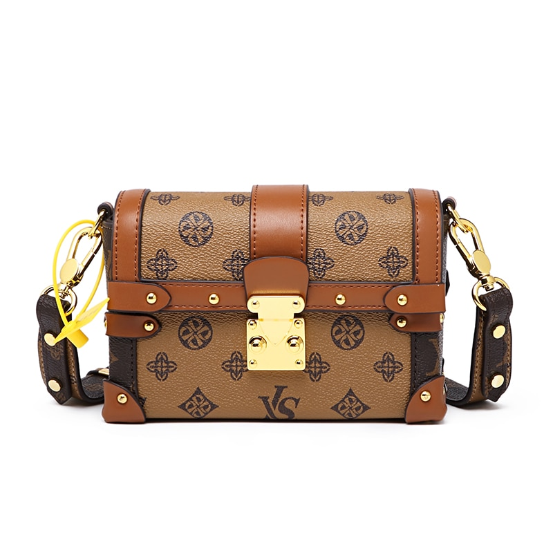 Flaps for Women 2021 New Style Vintage Geometric Prints Crossbody Bag High Quality Real Leather Dating Purses Wallet On Chain Gg
