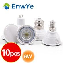 10 pièces lumière LED GU10 MR16 GU5.3 E27 E14 ampoule 2W 3W 4W 5W 6W 220V Lampada LED condensateur lampe Diffusion projecteur économie dénergie