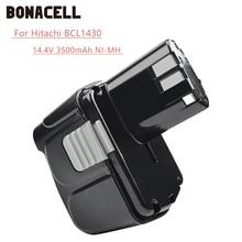 Bonacell 14.4V 3500mAh pour Hitachi BCL1430 batterie pour Hitachi CJ14DL DH14DL EBL1430 BCL1430 BCL1415 Li-ion batterie L30